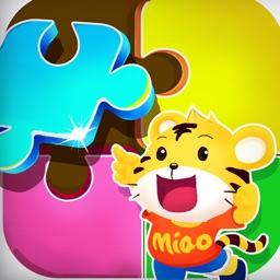 儿童游戏:动物拼图-宝宝爱玩的益智游戏