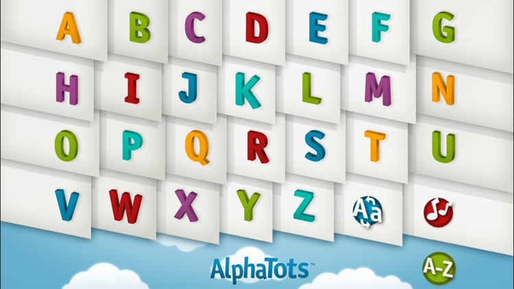 AlphaTots Alphabet