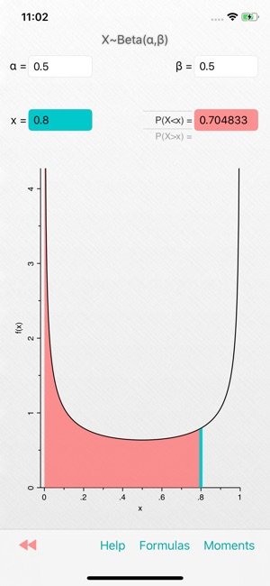 Probability-Distributions on the App Store