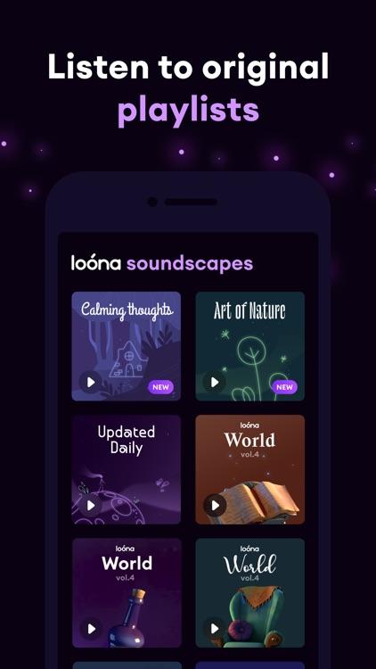 Loóna: calm, relax and sleep screenshot-3