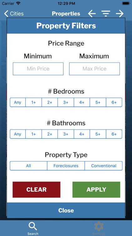 USHUD Foreclosure Home Search screenshot-3