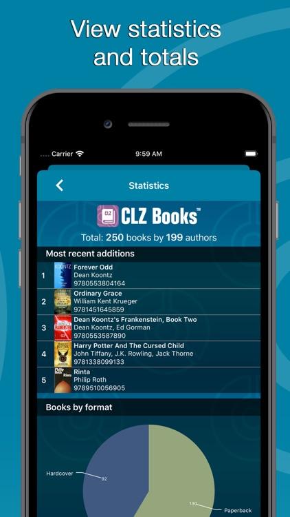 CLZ Books - Book Inventory screenshot-5