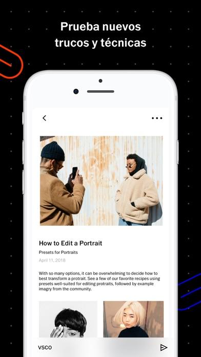 Screenshot for VSCO in Peru App Store