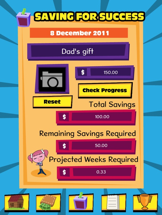 Pocket Money Manager HD screenshot-3