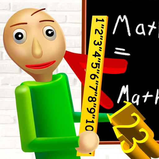 Baldi's Basics in Education app for ipad