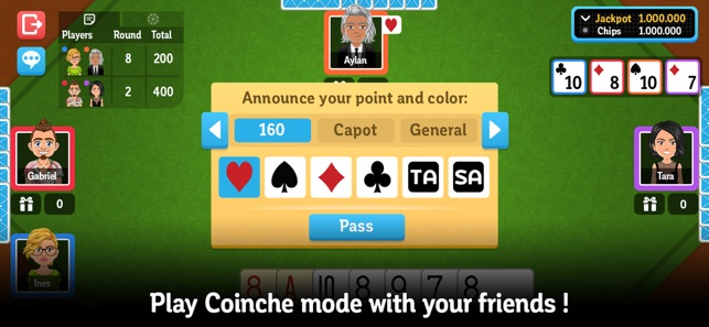 Belote & Coinche online on the App Store