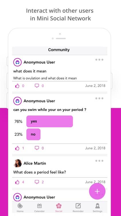 Period Tracker : Ovulation App screenshot-4