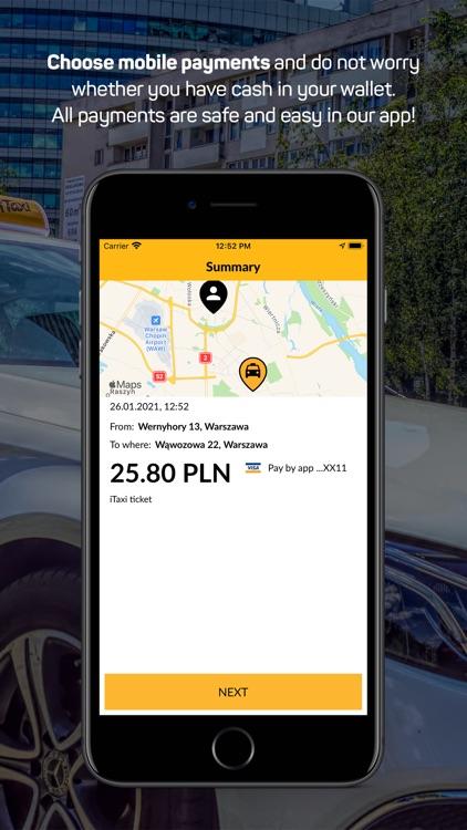 iTaxi - The Taxi App screenshot-5