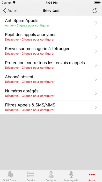 Mon compte pour Free Mobile screenshot-8