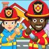 私の消防署の町の生活アイコン