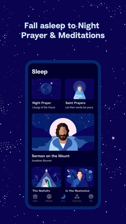 Hallow: Catholic Meditation screenshot-3
