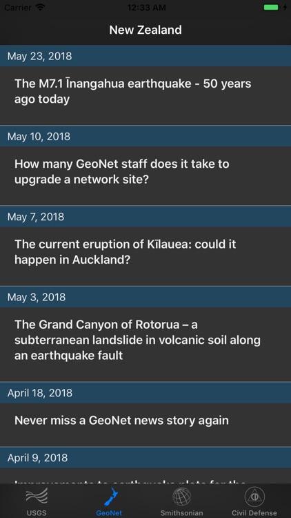 Volcano Updates screenshot-3