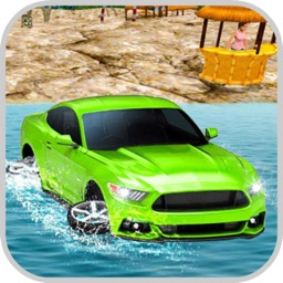 Water Surfing: Car Racing Chal