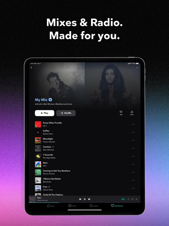TIDAL screenshot