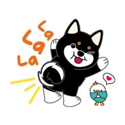 Little Husky Cutie Stickers