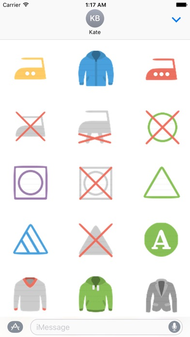 Clothes And Shoes Icon Sticker screenshot 9
