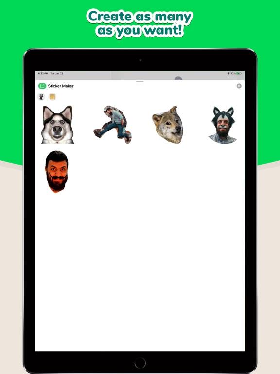 Sticker Maker Studio iPad app afbeelding 7