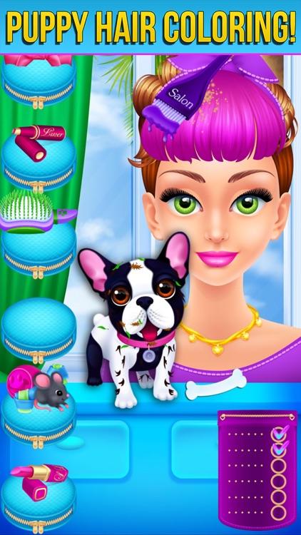 Hair Salon - Makeover Party screenshot-7