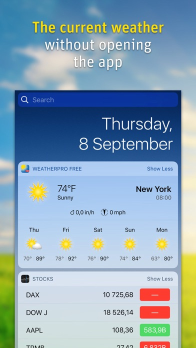WeatherPro Lite Screenshot