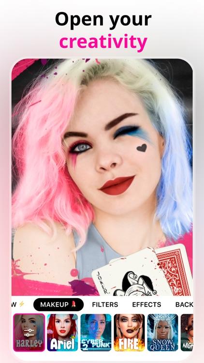 Voir - Makeup & Beauty Filters screenshot-4