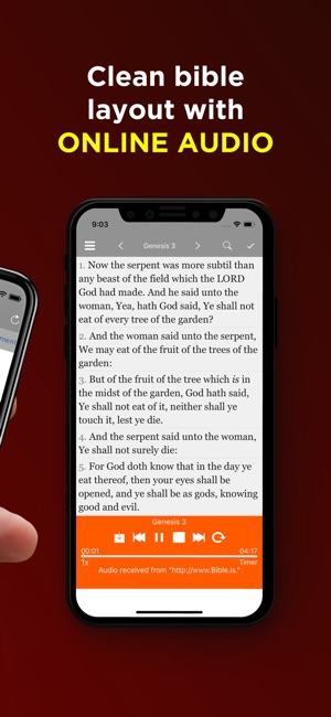 download offline audio bible for android
