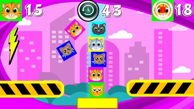 Kitty Cat Tower Blocks screenshot-3
