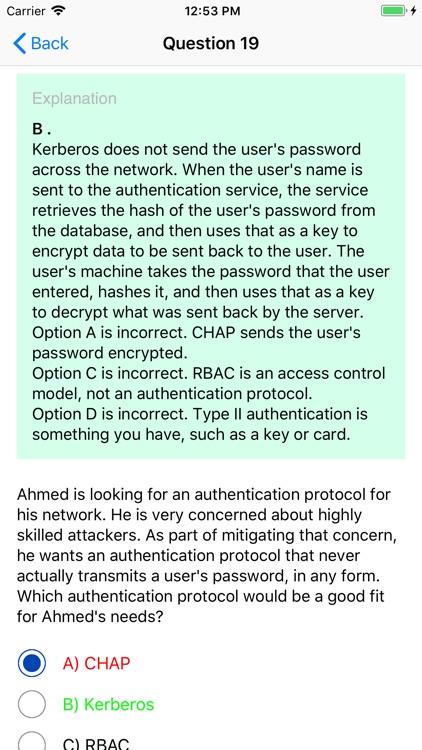 Comptia Security+ SY0-501 screenshot-4