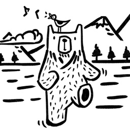 BWP - Bear Walking Pal ʕ·.· ʔ