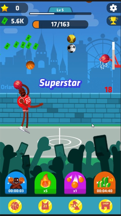 Idle Dunk Masters Скриншоты6