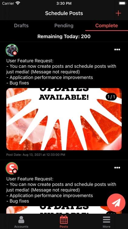 Smart Post: Content Scheduler screenshot-5