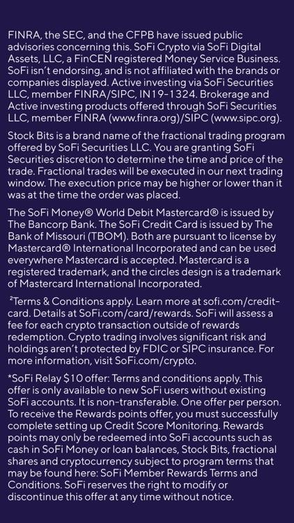 SoFi: Investing, Money, Loans screenshot-9