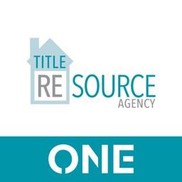 TitleResourceAgency ONE