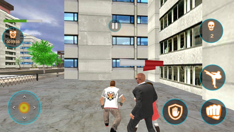 Angry Fighter Mafia Attack 3D screenshot-4