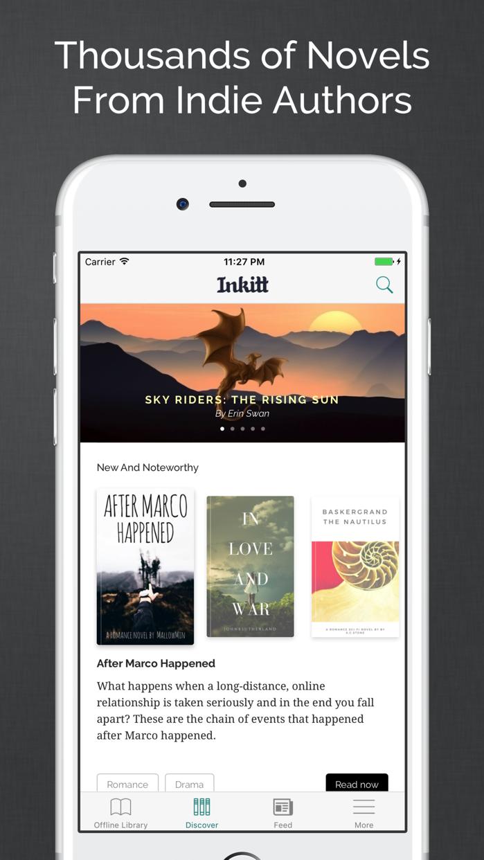 Inkitt: Books, Novels, Stories Screenshot