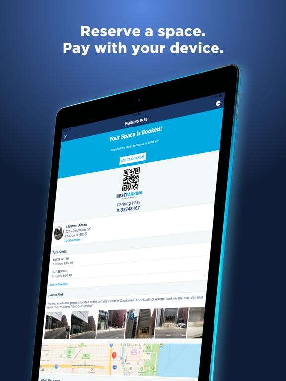 BestParking: Get Parking Deals iPad