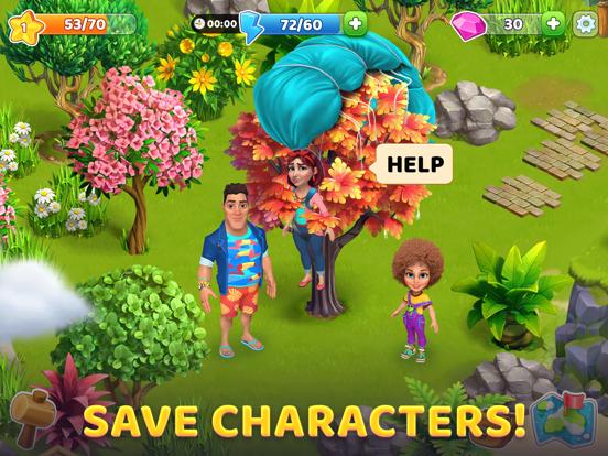 Bermuda Adventures: Farm Games iPad app afbeelding 2
