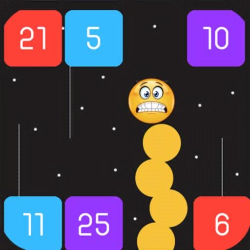 Snake Crash ball iOS App