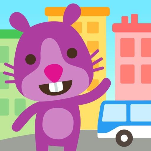 Sago Mini Big City app for ipad
