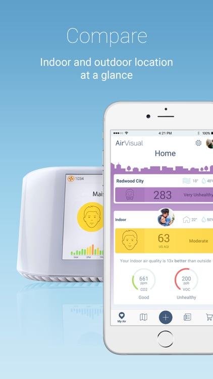 IQAir AirVisual | Air Quality screenshot-3