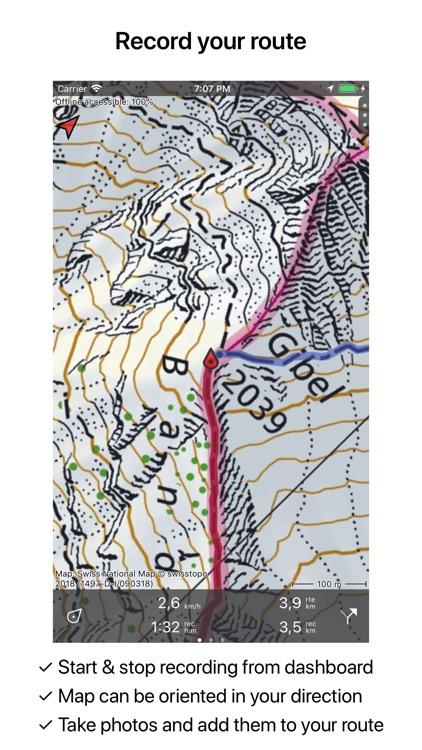 Topo GPS Switzerland screenshot-3