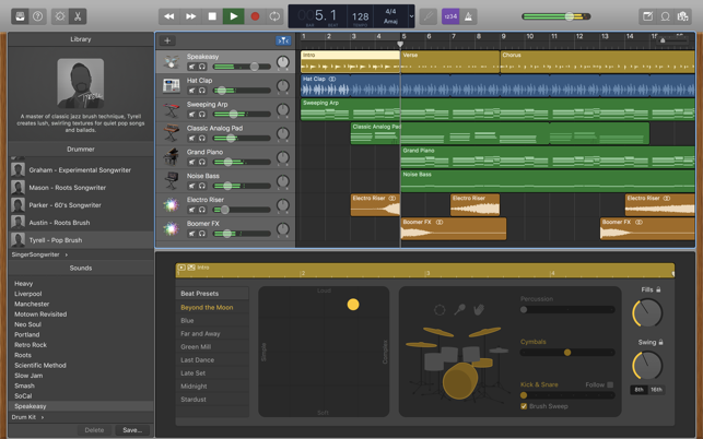 GarageBand on the Mac App Store