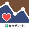 血圧ノート-血圧変化を記録!自動でグラフ化-