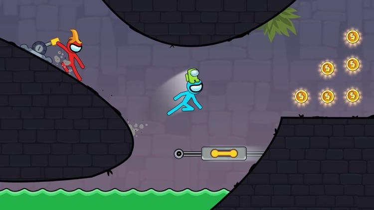 Stickman Red And Blue screenshot-6