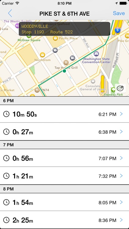 Transit Tracker - Seattle