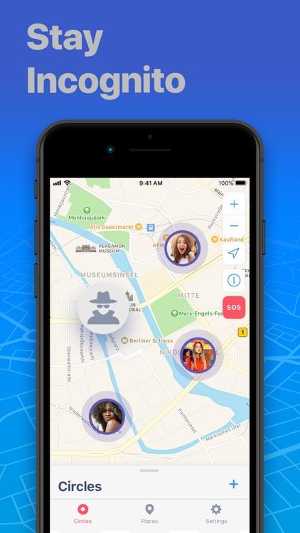 FindMe: Find My Friends, Phone screenshot-4