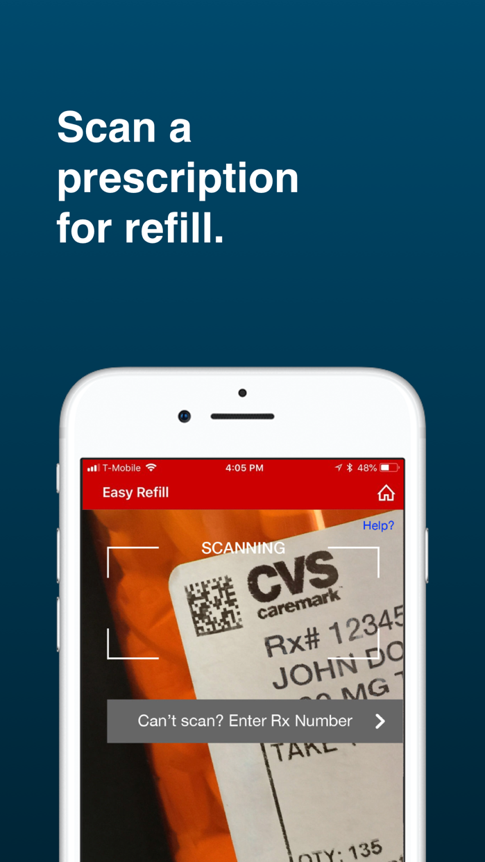 CVS Caremark Screenshot
