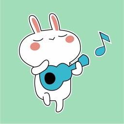 Bunny Happy Dance Animated