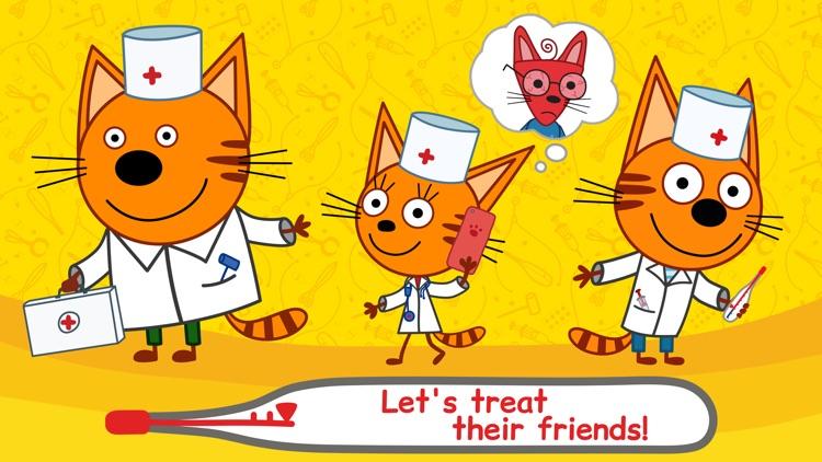 Kid-E-Cats: Pet Doctor Games screenshot-0
