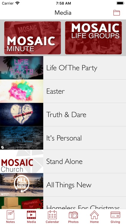 Mosaic Church | Cincinnati screenshot-4