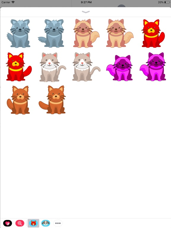 Animated Crazy Cats Stickers screenshot 2